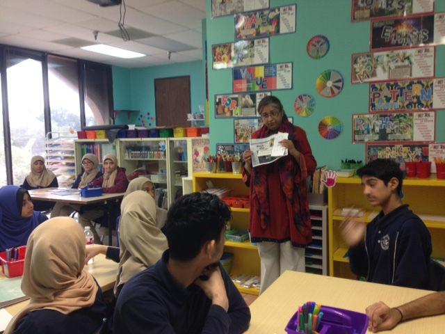 Islamic Arts Class at Al-Hadi School – Islamic Arts Society